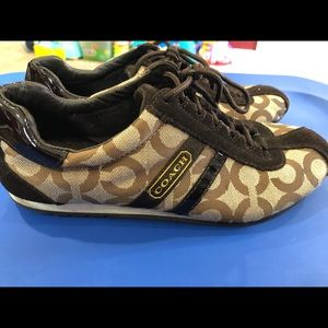 Size 8 Excellent Condition Worn Once Coach Shoes